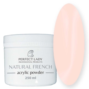 NATURAL FRENCH ACRYLIC POWDER Pink 250 ml