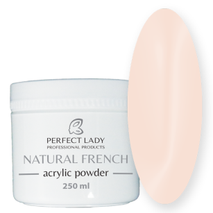 NATURAL FRENCH ACRYLIC POWDER Beige 250 ml