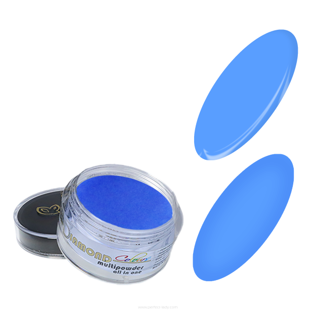 DIAMOND MULTIPOWDER COLOURS all in one - blue 10 ml